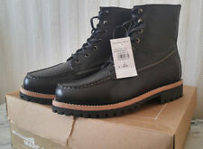 New MARC MOTO Black Leather Boots by Andrew Marc Size 9 $400 Motorcycle Rider