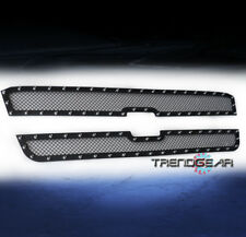 2003-2006 CHEVY AVALANCHE/2005 SILVERADO 1500 UPPER RIVET STAINLESS MESH GRILLE