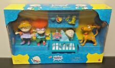 1997 Brand New Sealed Rugrats Tommy's World 4 Figure Set Mattel Nickelodeon Rare