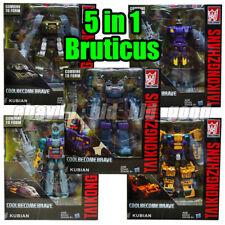 Transformers 5in1 Bruticus G1 Autobot IDW Comic Robot Car Kid Gifts Toy In Stock