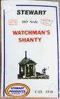 Stewart HO Scale #108 Watchman's Shanty (White Metal kit) 1:87th Scale