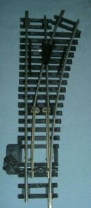 HORNBY OO GAUGE 1 PIECE OF RIGHT HAND POINT SERIES 6 R613