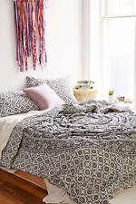 Indian Black Elephant Mandala Hippie Duvet Cover Blanket Ethnic Comforter Cover