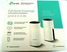 New - TP Link Deco W2400 Dual Band Mesh WiFi Router 2-Pack System - 840030700071