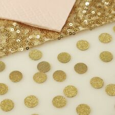 GOLD GLITTER TABLE CONFETTI - Weddings - Party - Hen - Baby Shower