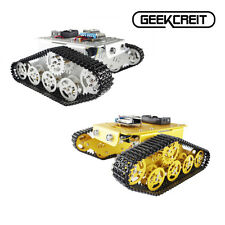 "Geekcreitâ""¢ DIY T300 NodeMCU Aluminum Alloy Metal Wall-E Tank Track Caterpillar"