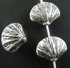 120pcs Tibetan Silver Nice Shell Spacer Beads 12x10mm 11279