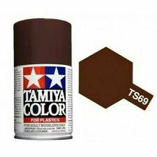 Tamiya TS-69 Linoleum Deck Brown Spray Paint (100 ml) #85069