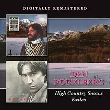 Dan Fogelberg High Country Snows/Exiles 2-CD NEW SEALED Digitally Remastered