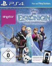 SingStar: Die Eiskönigin - Völlig unverfroren (Sony PlayStation 4, 2014, DVD-Box