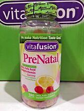 vitafusion PreNatal 180 gummies *** DHA, Folic Acid & Multivitamin ***