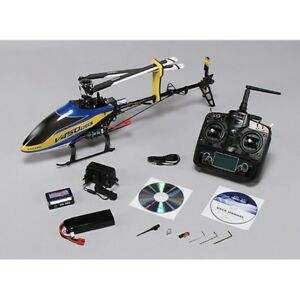 Walkera V450D03 Flybarless RC Helicopter RTF with Devo 7 Transmitter- US Dealer