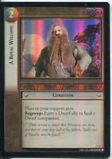 Lord Of The Rings CCG Foil Card RotEL 3.U4 A Royal Welcome