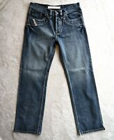 Mens DIESEL Roody Jeans Regular Fit Bootcut Dark Blue Stone wash Size W34 L34