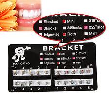 1 Pack Dental Orthodontic Bracket Braces Mini Roth 022 with 3 Hook ORTHO