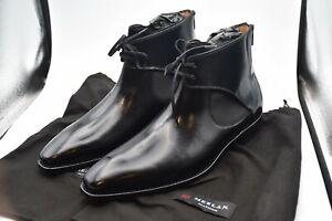 Mezlan  Affleck Black Leather Spain Boots Shoes MEN'S SZ 12 M
