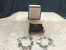 LENOX  ELEGANT ALABASTER WATCH AND BRACELET SET   NEW FROM LENOX