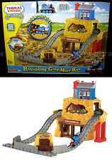 New - THOMAS & Friends - RUMBLING GOLD MINE RUN - TAKE-N-PLAY Portable Train Set