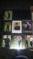 TIGER WOODS Lot of 7 PGA Golf Cards