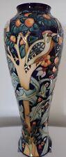 "Rare Moorcroft ""Tree Bark Thief"" Ltd Ed Vase by Rachel Bishop"