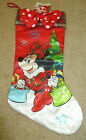 """Holiday Stocking: Minnie Mouse: 18.5"""""""