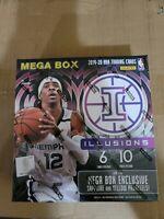 2019-20 Panini Illusions Basketball Mega Box Factory Sealed (Zion? Ja?)