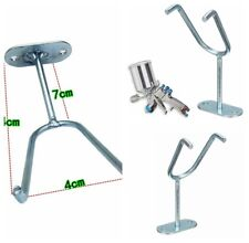 Wall Bench Mount Hook Booth Cup Gravity Feed Paint Spray Gun Holder Stand HVLP