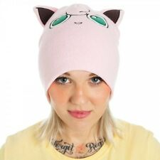 OFFICIAL NINTENDO POKEMON JIGGLYPUFF BIG FACE WITH EARS BEANIE HAT (BRAND NEW)