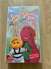 Barney's Sense-Sational Day VHS VIDEO