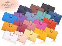 NWT Coach Medium Corner Zip Wallet In Crossgrain Leather F11484