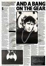 7/9/91 Pgn12 ARTICLE & PICTURES : NINE INCH NAILS (TRENT REZNOR)