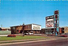 BG21192 sherwood motel restaurant car voiture regina sask canada hotel