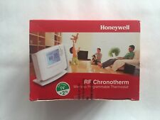 HONEYWELL CM927 PROGRAMMABLE ROOM STAT WIRELESS RF CMT927A1049 & RECEIVER NEW!