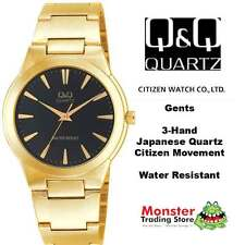 AUSSIE SELER GENTS DRESS WATCH CITIZEN MADE GOLD COLOUR VL90-002 12 MONTH WRANTY