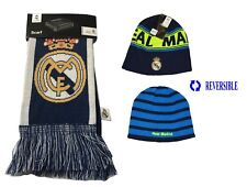 REAL MADRID SET BEANIE AND SCARF REVERSIBLE OFFICIAL PRODUCT