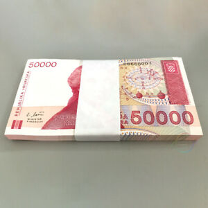 CROATIA 50,000 50000 Dinara X 100 PCS 1993 P-26 Full Bundle UNC Uncirculated