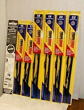"Tripledge 16"" Auto Wiper Blade Silicone Three Edges Blade Lot of 2 each"