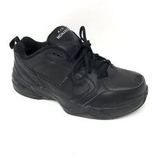 new product 6e3d4 f759f Anuncio nuevoNike Monarch comodidad de Cuero Negro Air caminar, zapatillas  IV Zapatos 416355 hombre 11
