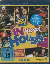 WWE THE BEST OF IN YOUR HOUSE - 2-Disc Set - Blu-Ray *NEW & SEALED*