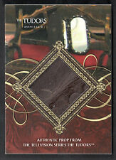 THE TUDORS I, II & III Breygent 2011 Prop Card #TKM KING'S MIRROR 30/100 LEATHER
