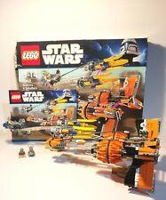 Lego Starwars Anakin Skywalker & Sebulba Podracer Set 7962 Complete/Instructions