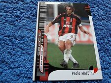 Panini Calcio Cards 2002 MALDINI MILAN Soccer Serie A Italia Trading card