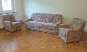 Sofa Set 3+1+1, Sleep Function Foldable = Possible