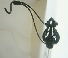 Antique Victorian Cast Iron Plant Hanger Hook Wall Bracket
