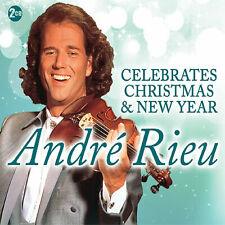 Andre Rieu-Celebrates Christmas & New Year 2 CD Box set, new