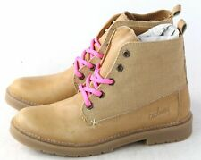 Coolway Womens Esty Chukka Lace Up Boot Tan Leather Size 36 EU / 5.5 M US