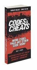 Codes & Cheats Vol. 1 2013: Prima Game Guide