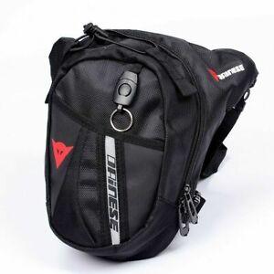 Borsa Moto da Gamba Marsupio Zaino Tracolla Borsello Moto Scooter Leather Bag