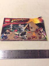 Lego 7624 - Campsite - Indiana Jones - Manual Only
