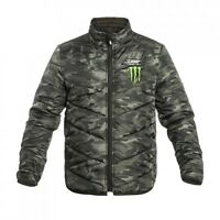 New Official Valentino Rossi VR46 Camp Camo Padded  Jacket  - MOMJK 218403